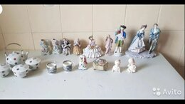 Статуэтки и фигурки - Коллекция винтажного фарфора, 0