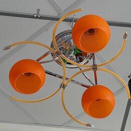 Люстры и потолочные светильники - Люстра с разноцветными плафонами , 0