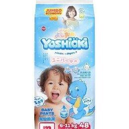 Подгузники - Трусики-подгузники Yoshioki M (6-11 кг), 48 шт, 0
