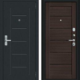 Входные двери - Входная дверь Райт Муар антрацит Wenge Veralinga, 0