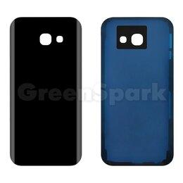 Корпусные детали - Задняя крышка для Samsung A520 Galaxy A5 (2017) (черный), 0