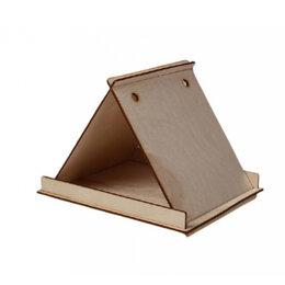 Игрушки и декор  - Сборная кормушка для птиц Greengo Треугольный магнит Дарим Красиво, 0