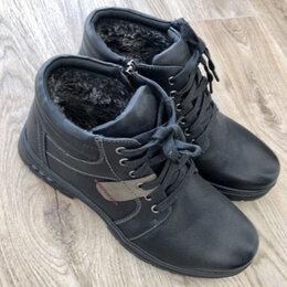 Ботинки - Ботинки зимние мужские, 0