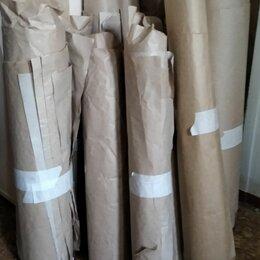Фольга, бумага, пакеты - Крафтовая бумага бу в рулонах. , 0