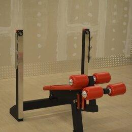 Другие тренажеры для силовых тренировок - Скамья для жима под отрицател угл. Изготовление тр, 0