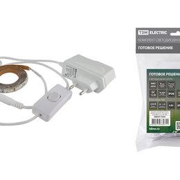 Светодиодные ленты - Комплект LED лентыSMD2835-60LED/м-12 В-4,8 Вт/м-IP20-6000 К (1м), 6 ВтTDM..., 0