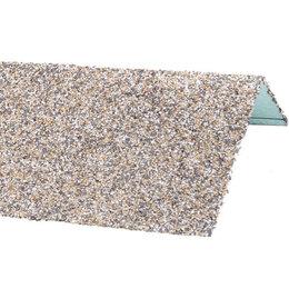 Окна - Наличник оконный металлический HAUBERK Серо-Бежевый 50*100*1250мм, 0
