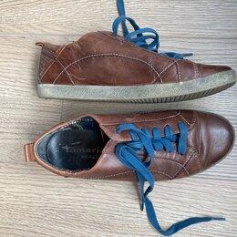 Ботинки - Полуботинки кеды Tamaris 37 кожа, 0