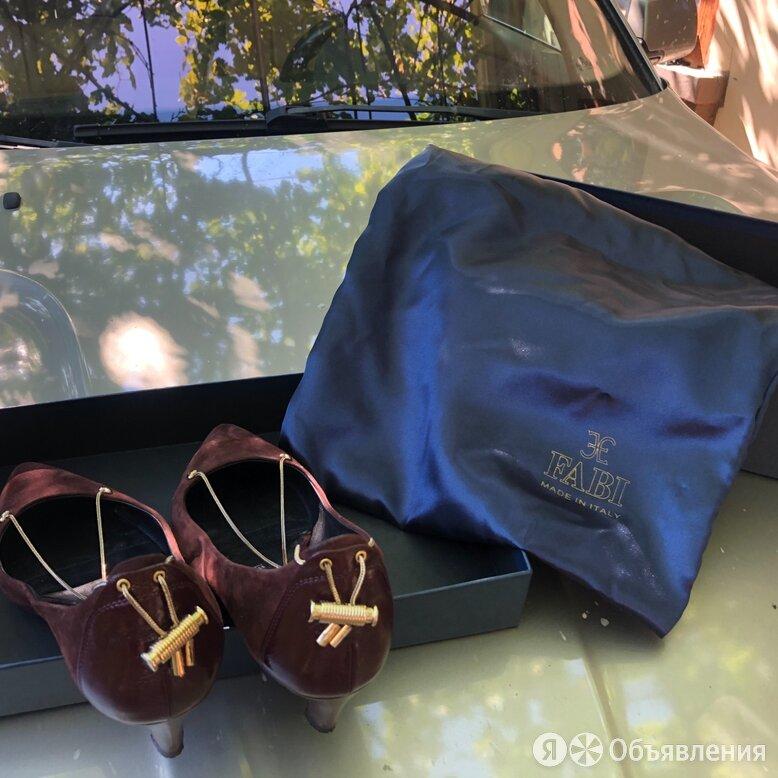 Туфли женские 38 размер италия, Fabi по цене 8000₽ - Туфли, фото 0