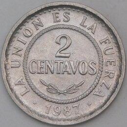 Монеты - Боливия 2 сентаво 1987 КМ200  арт. 30393, 0