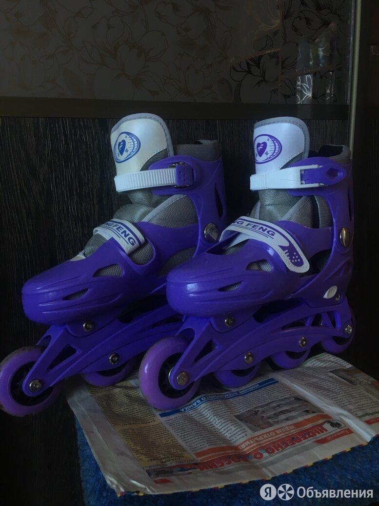 Роликовые коньки(раздвижные) по цене 500₽ - Роликовые коньки, фото 0