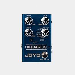Процессоры и педали эффектов - Joyo R-07-AQUARIUSDELAY/LOOPER Педаль эффектов, 0