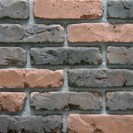Облицовочный камень - Декоративный кирпич Питер Брик 2591, 0