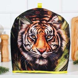 """Крышки и колпаки - Грелка """"Тигр"""", 29х28 см, 0"""