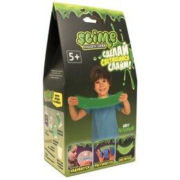 Наборы для исследований - Набор Slime Лаборатория Сделай слайм, зеленый 100 , 0