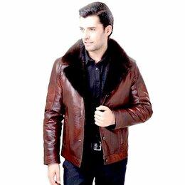 Костюмы - Куртка кожзам мужская зимняя, 0