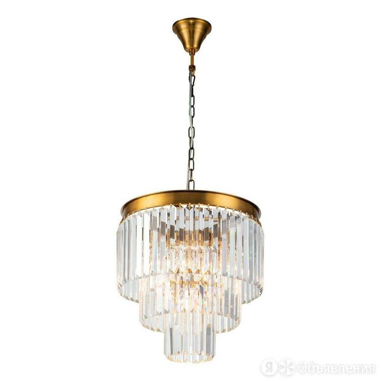 Подвесная люстра iLamp Triumph 7383/6P Brass по цене 44190₽ - Люстры и потолочные светильники, фото 0