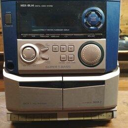 Музыкальные центры,  магнитофоны, магнитолы - Музыкальный центр aiwa nsx-bl14, 0