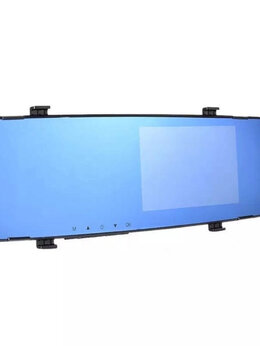 Видеорегистраторы - Видеорегистратор зеркало  с камерой заднего вида, 0