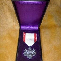 Жетоны, медали и значки - Япония Орден Восходящего Солнца 8 степени Серебро Оригинал Сохранность, 0