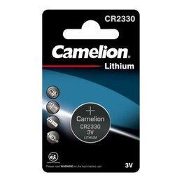 Батарейки - Элемент питания литиевый CR CR2330 BL-1 (блист.1шт) Camelion 3074, 0
