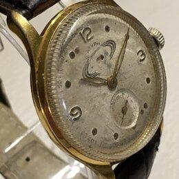 Наручные часы - Часы Сатурн, 1960 г., позолота, 0