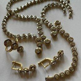 Комплекты -   Продаётся Золотое Ювелирное украшение с бриллиантами , 0