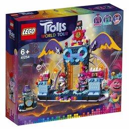 Конструкторы - Lego Trolls World Tour Концерт в городе Рок-на-Вулкане 41254 Новое, Оригинал, 0