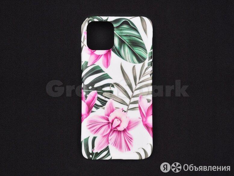 Чехол (накладка) Vixion силиконовый для iPhone 11 Pro Листья по цене 350₽ - Чехлы, фото 0