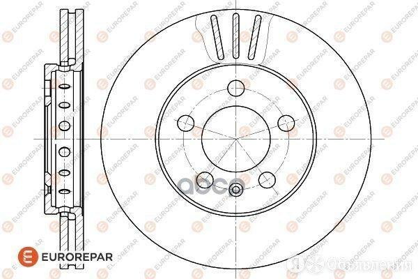Диск Тормозной Audi A3 96>, Seat Cordoba/Toledo Ii 99>, Skoda Fabia 99> EUROR... по цене 1810₽ - Тормозная система , фото 0