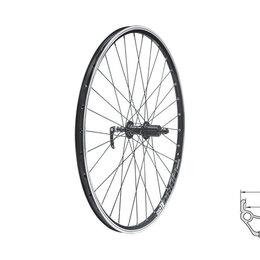 """Обода и велосипедные колёса в сборе - Колесо заднее KLS DRAFT, 26"""", двойной обод 32Н, 8-10 ск. , с эксцентриком, 0"""
