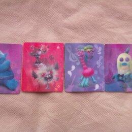 Игровые наборы и фигурки - Тролли гастроли карточки 4 штуки пакетом, 0