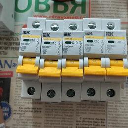 Пускатели, контакторы и аксессуары - Автоматический выключатель iek c16 с6 , 0