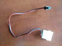 """Компьютерные кабели, разъемы, переходники - Кабель питания 12 вольт с Molex """"папа"""" на вилку…, 0"""