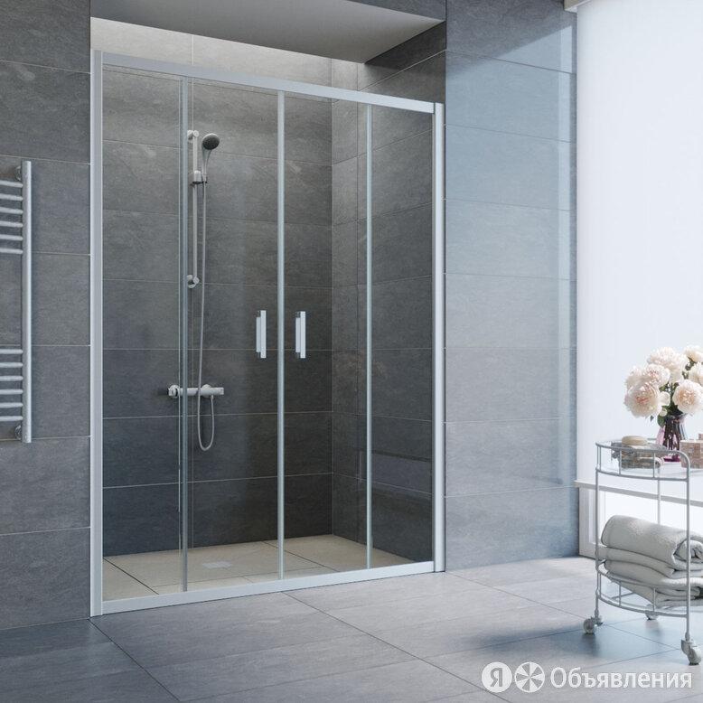 Душевая дверь в нишу Vegas Glass Z2P 150 07 01 профиль матовый хром, стекло п... по цене 34640₽ - Души и душевые кабины, фото 0