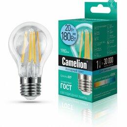 Лампочки - Светодиодная лампа E27 20W 4500К (белый) A60…, 0