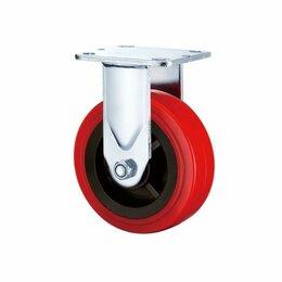 Оборудование для транспортировки - Неповоротная колесная опора ф 100, 125, 160, 200 мм, 0