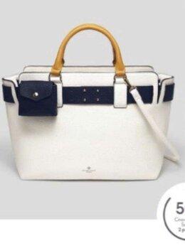 Сумки - Классная дамская сумка в морском стиле. , 0