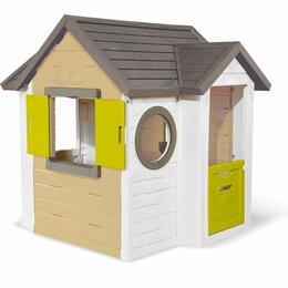 Игровые домики и палатки - Детский игровой домик Smoby My New House 810406, 0