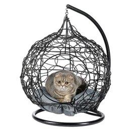 Лежаки, домики, спальные места - Кокон для животных (чёрный), БГ, 0