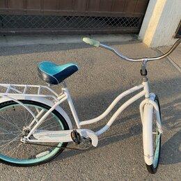 Трехколесные велосипеды - Велосипед крузер schwinn жеский (детский), 0