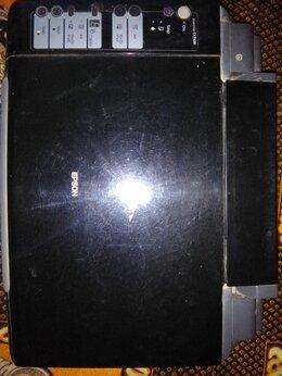 Принтеры и МФУ - Цветной принтер epson со сканером, 0