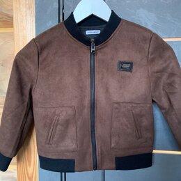 Куртки и пуховики - Детская замшевшая куртка, 0