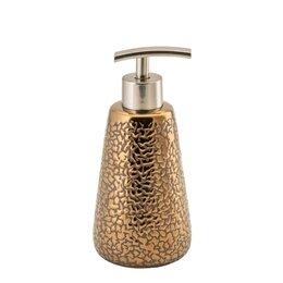 Мыльницы, стаканы и дозаторы - Дозатор для жидкого мыла TIVAT SWTK-6040-A бронзовый, керамика, 0