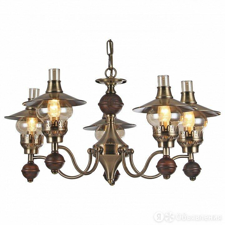 Подвесная люстра Arte Lamp Trattoria A5664LM-5AB по цене 26282₽ - Люстры и потолочные светильники, фото 0