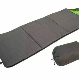 Спальные мешки - Спальный мешок БАТЫР СОК-2 (220*75) зелёный (холлофайбер) Helios, 0