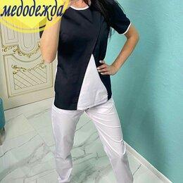Одежда и аксессуары - Женский медицинский костюм в 2-х цветах, 0