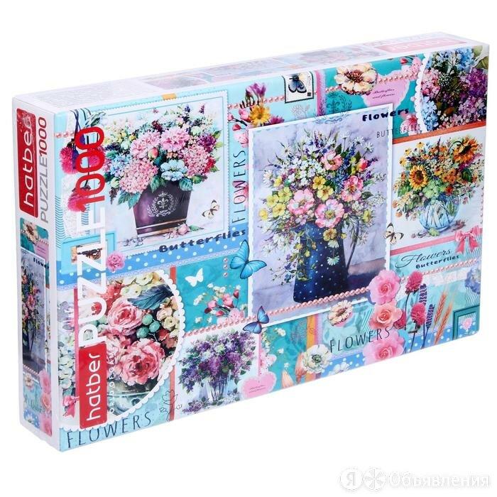 Пазл 1000 элементов «Цветы для души» по цене 684₽ - Пазлы, фото 0