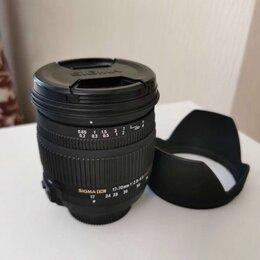 Объективы - Sigma AF 17-70mm f/2.8-4 DC MACRO OS HSM Nikon F, 0