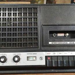 Музыкальные центры,  магнитофоны, магнитолы -  магнитофон электроника 302, 0